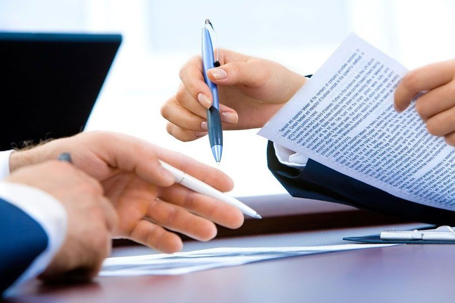 signing a contract with a healthcare staffing agency